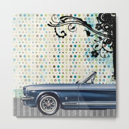 car & pattern Metal Print