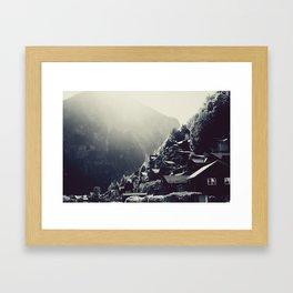 Hallstatt Revisited Framed Art Print