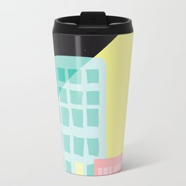 Moonlit Cityscape Travel Mug