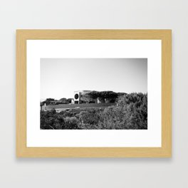 Circle House Framed Art Print