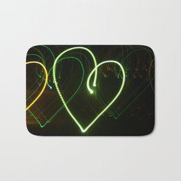 Love in Lights Bath Mat