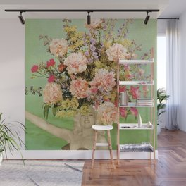 Floral Fashions II Wall Mural