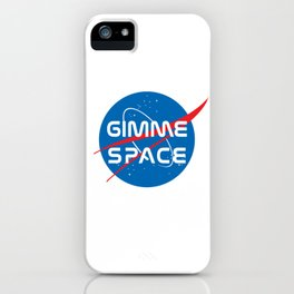 Gimme Space iPhone Case