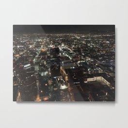 night LA, downshot Metal Print