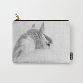 Andalusian Stallion - Digital Painting Carry-All Pouch