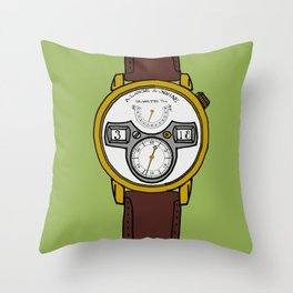 A. Lange Throw Pillow