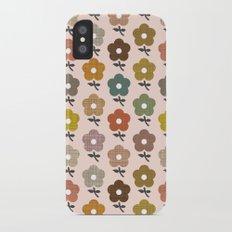 Happy little flower Slim Case iPhone X