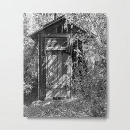 shed Metal Print