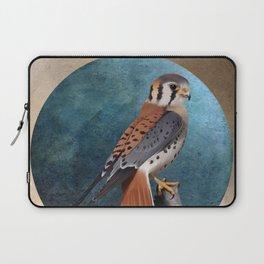 American kestrel bird illustration Laptop Sleeve