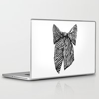 bow Laptop & iPad Skins featuring Bow by Samantha Turnbull