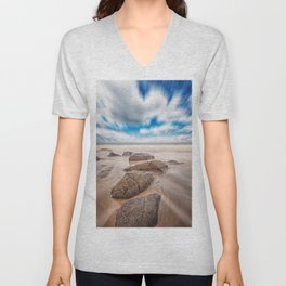 Moving Sky Unisex V-Neck