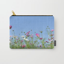Colorful Cosmos Blue Sky Carry-All Pouch