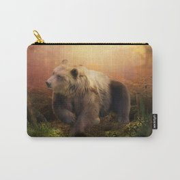 Awesome bear in the night Carry-All Pouch