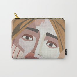 MAJE // Woman with Headwrap Carry-All Pouch
