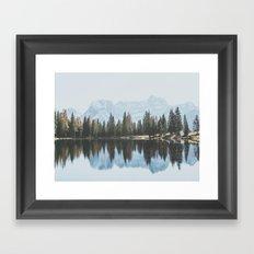 Italian Dolomites (landscape version) Framed Art Print