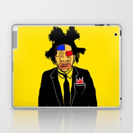 Jean Michelle Basquiat Laptop & iPad Skin
