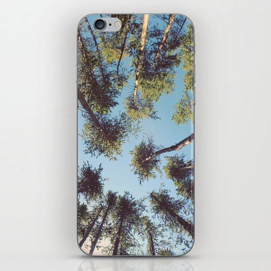 look up & GET LOST iPhone & iPod Skin