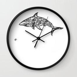 'Wet' by John McLachlan Wall Clock