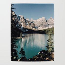 Moraine Lake Morning Poster