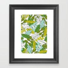 Modern Tropics Framed Art Print