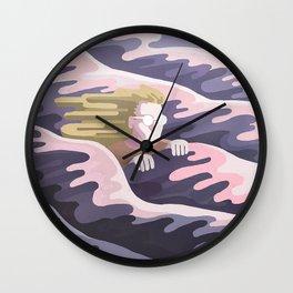 Dans la vague Wall Clock