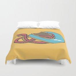vipera color Duvet Cover