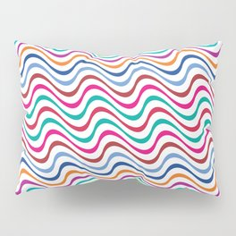 Rippling Colors Pillow Sham