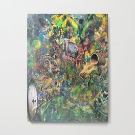 Miasmic Jungle Metal Print