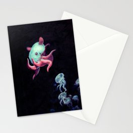Bioluminescence Stationery Cards