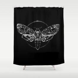 Death's-head Hawkmoth Shower Curtain
