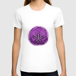 Live Purple Sand Dollar T-shirt