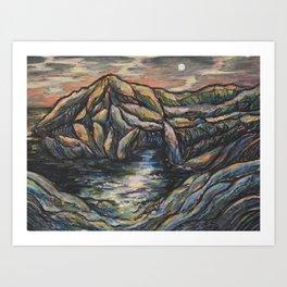 Maine Cove Art Print
