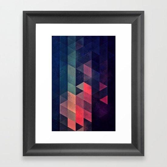 edyfy wyth lyys Framed Art Print