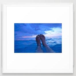 Horizon Line Framed Art Print