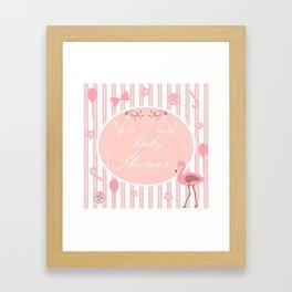 Baby Shower Framed Art Print