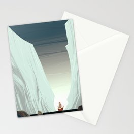 Ice Field & Ship Stationery Cards