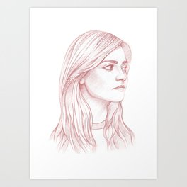 Clara Oswald Art Print