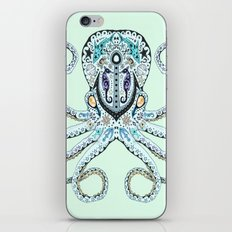 Sugar Skull Octopus iPhone & iPod Skin