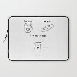 The Lager, The Bun & The Jolly Toast Laptop Sleeve