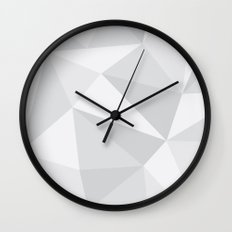 White Deconstruction Wall Clock