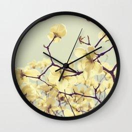 Magnolia Dream Wall Clock