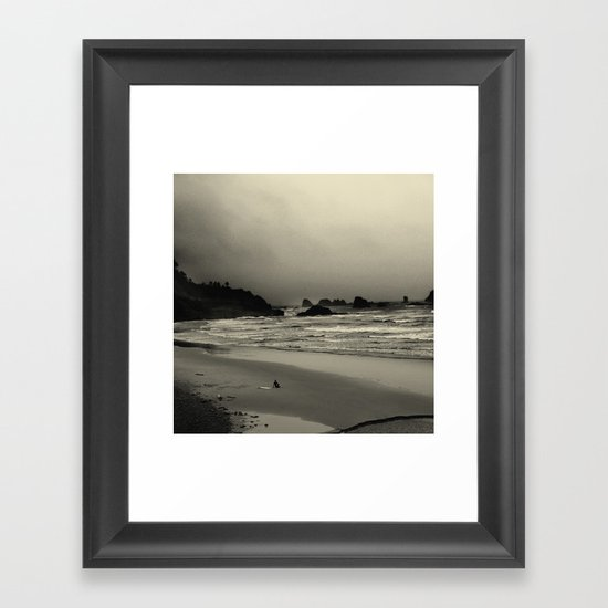What the Water Brought Me Framed Art Print