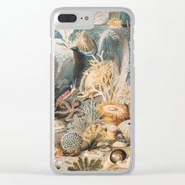 Ocean Life by James M. Sommerville Clear iPhone Case