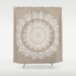 Baja Dunes Mandala Lace Bohemian Décor Shower Curtain