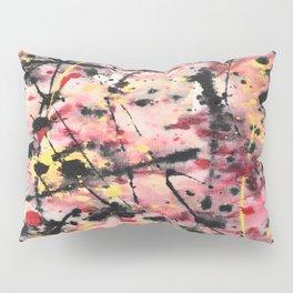 Pink/Yellow/Black Pillow Sham
