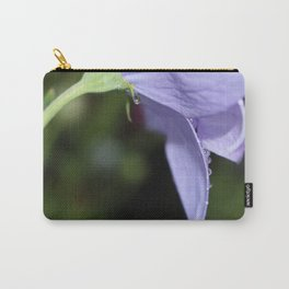 Water drops on balloon flower Carry-All Pouch
