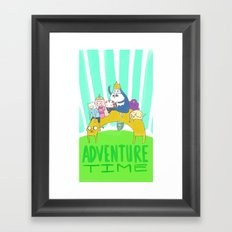 Time to Adventure! Framed Art Print