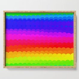 Rainbow Color S27 Serving Tray