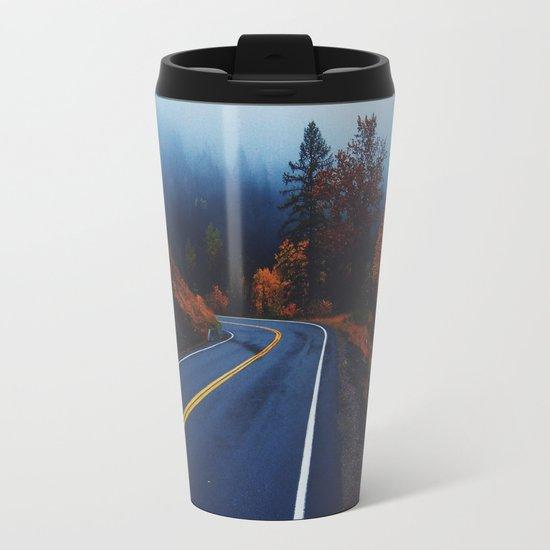 All roads lead to adventure Metal Travel Mug