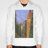 prague Hoodies featuring Prague Castle by Vivid Perceptions